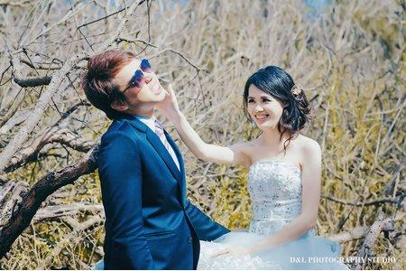 (D&L 婚禮事務)婚紗攝影-彰濱海岸