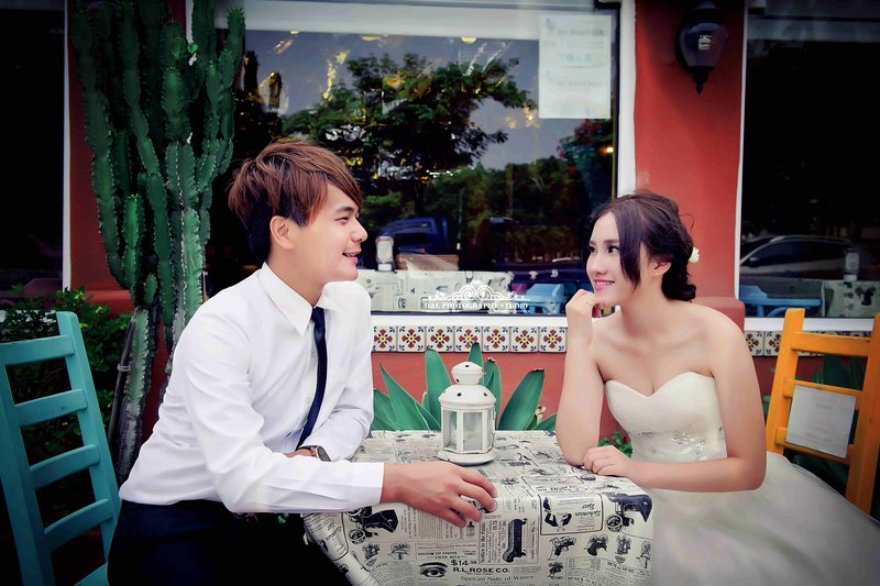婚紗攝影包套B作品