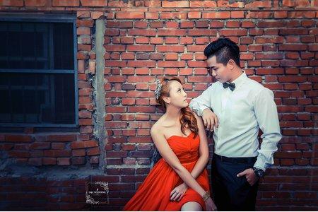 D&L 婚禮事務 台中婚紗 婚紗攝影 仁里彩繪村  自助婚紗 平面攝影