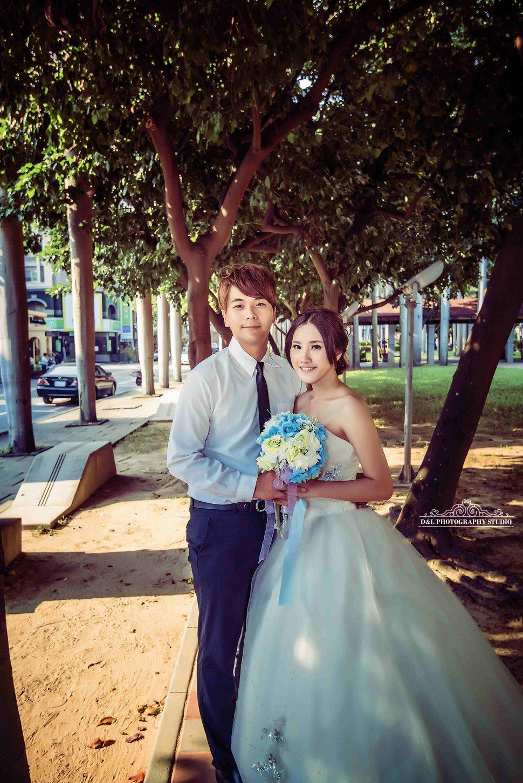 台中婚紗 婚紗攝影 綠園道 自助婚紗-平面攝影(編號:460011) - D&L 婚禮事務 · 婚禮婚紗攝影 - 結婚吧