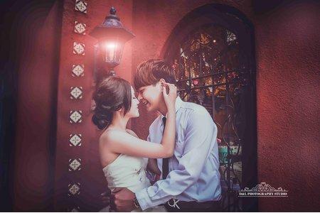 (D&L 婚禮事務)台中婚紗 婚紗攝影 綠園道 自助婚紗