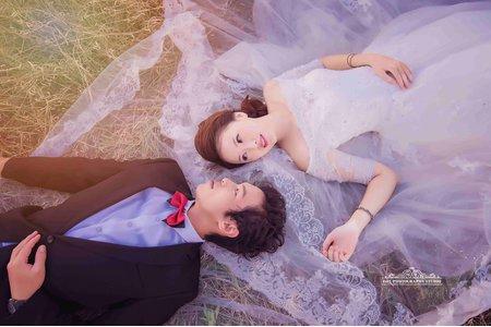 (D&L 婚禮事務)台中婚紗 婚紗攝影 彰濱海岸-I 自助婚紗