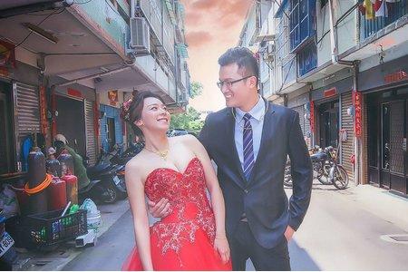 台中婚攝 婚禮記錄 錦德&柏君 日月圓喜宴餐廳