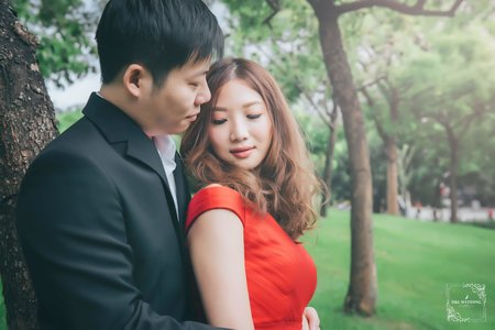 (D&L 婚禮事務)台中婚紗 婚紗攝影 大坑 自助婚紗-平面攝影