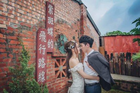 (D&L 婚禮事務)台中婚紗 婚紗攝影  瑞井社區 自助婚紗 平面攝影