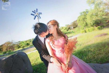 D&L 婚禮事務 台中婚紗 婚紗攝影 都會公園-I 自助婚紗