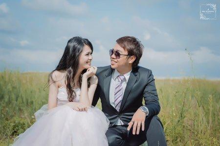 (D&L 婚禮事務)台中婚紗 婚紗攝影 彰濱海岸 自助婚紗