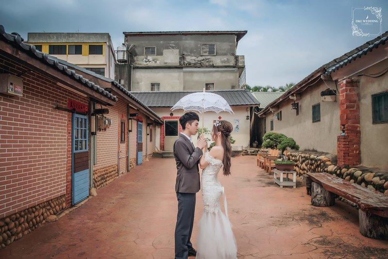 純單拍婚紗攝影作品