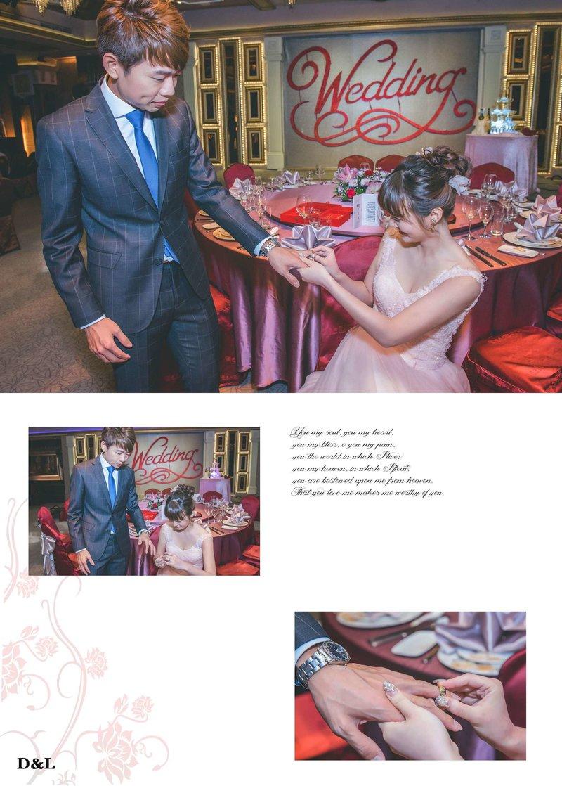 婚禮攝影-單儀式+午宴平面方案B作品