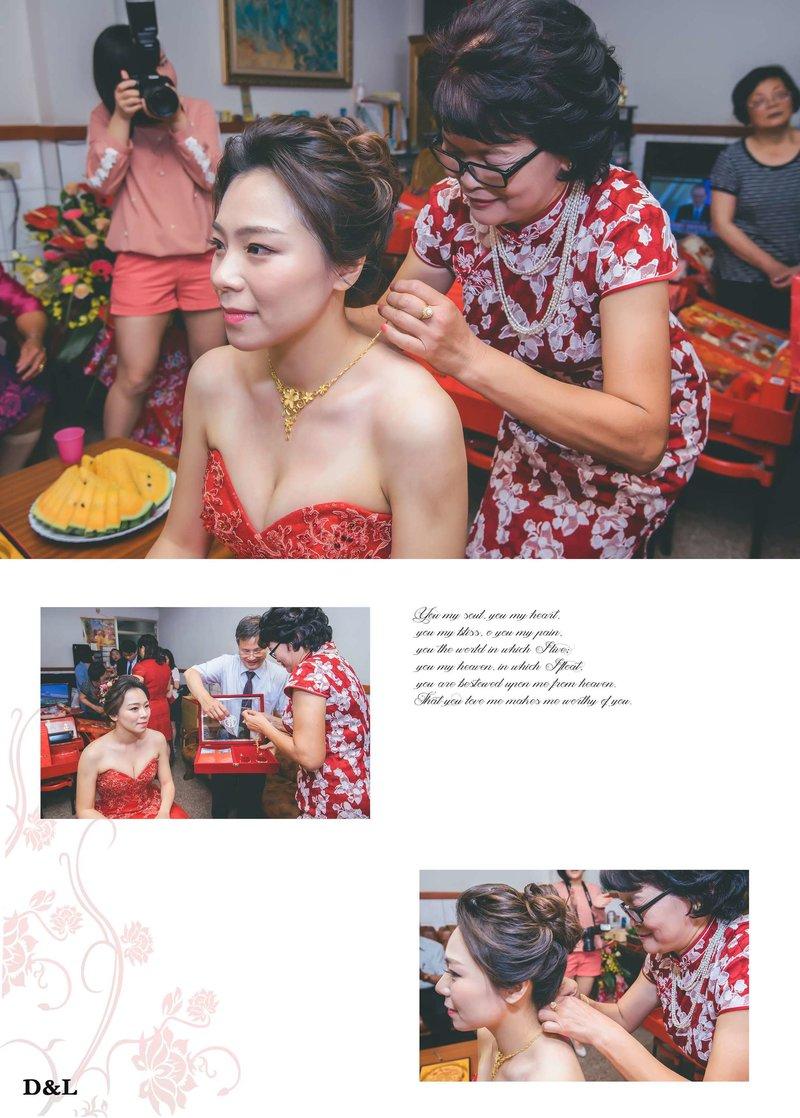 婚禮攝影-單儀式+晚宴平面方案C作品