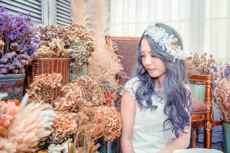 新娘秘書/整體造型/自助婚紗作品