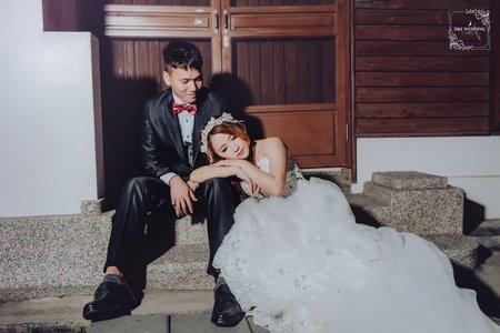 台中婚紗 婚紗攝影 鹿港桂花巷藝術村 自助婚紗-平面攝影