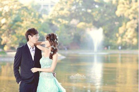 [自助婚紗] 台中婚紗 婚紗攝影 東海大學 自助婚紗 平面攝影.