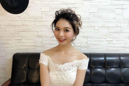 [新娘秘書] 整體造型/婚禮新秘/桃園新秘/新秘樓樓