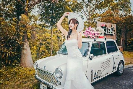 [婚紗寫真] 台中婚紗 婚紗攝影 自助婚紗 莫內的花園 婚紗照 平面攝影