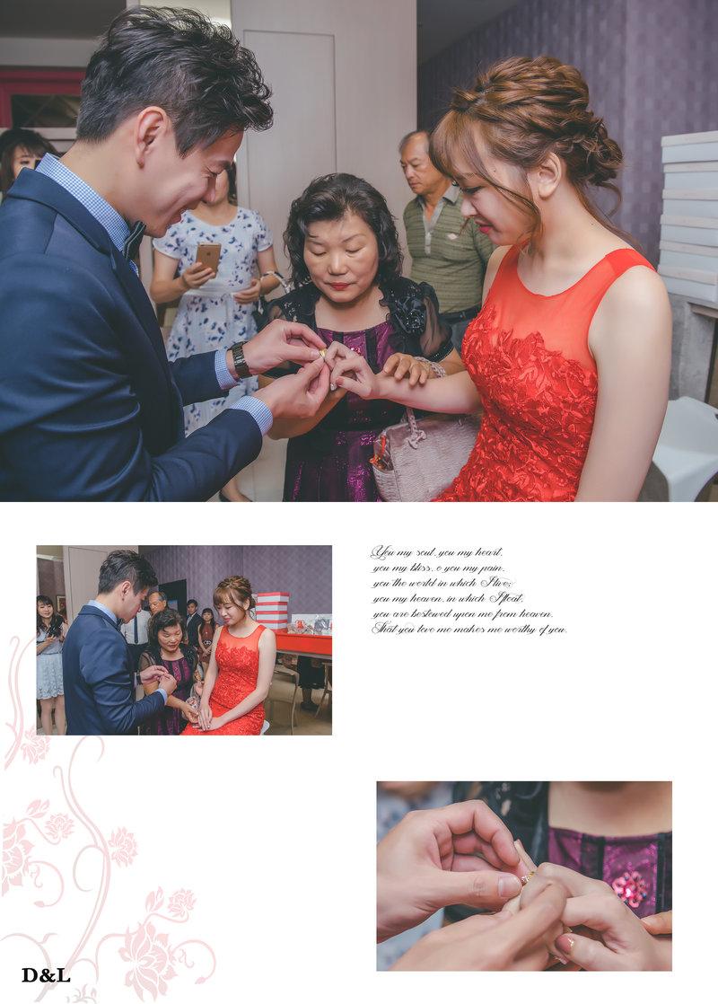 婚禮攝影-儀式、宴客平面方案A作品