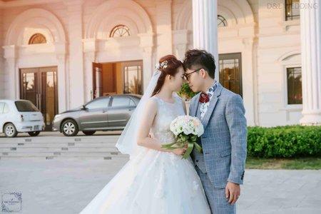 台中新竹婚禮/結婚迎娶儀式晚宴/港南艾茉爾婚宴會館/婚禮攝影/平面攝影