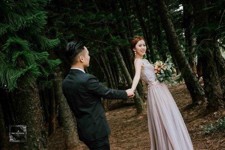 [自助婚紗] 婚紗攝影/台中九天黑森林/自助婚紗/婚紗照/平面攝影