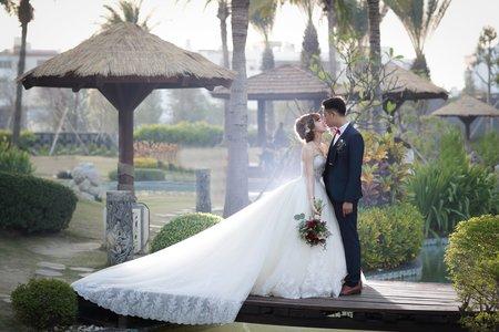 鮑柔結婚了/台南桂田酒店