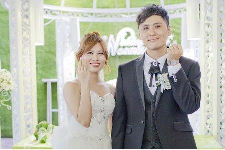 高雄自然系女婚攝(心之谷攝影工作室)-庭園證婚