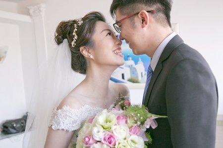 高雄自然系女婚攝(心之谷攝影工作室)-迎娶-藍色愛情海