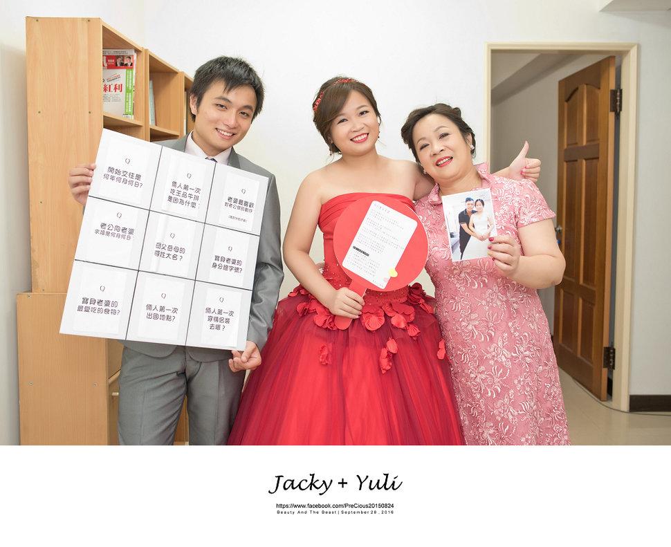 最真實的歡笑與淚水 [Jacky & Yuli 新莊新農園會館](編號:427825) - PreCious波克婚禮攝影工作室 - 結婚吧一站式婚禮服務