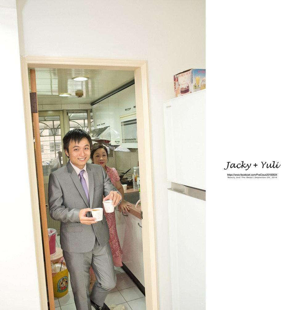 最真實的歡笑與淚水 [Jacky & Yuli 新莊新農園會館](編號:427827) - PreCious波克婚禮攝影工作室 - 結婚吧一站式婚禮服務
