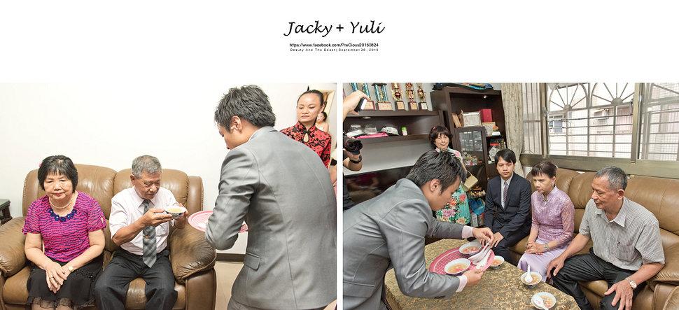 最真實的歡笑與淚水 [Jacky & Yuli 新莊新農園會館](編號:427841) - PreCious波克婚禮攝影工作室 - 結婚吧