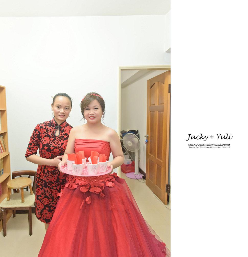 最真實的歡笑與淚水 [Jacky & Yuli 新莊新農園會館](編號:427856) - PreCious波克婚禮攝影工作室 - 結婚吧
