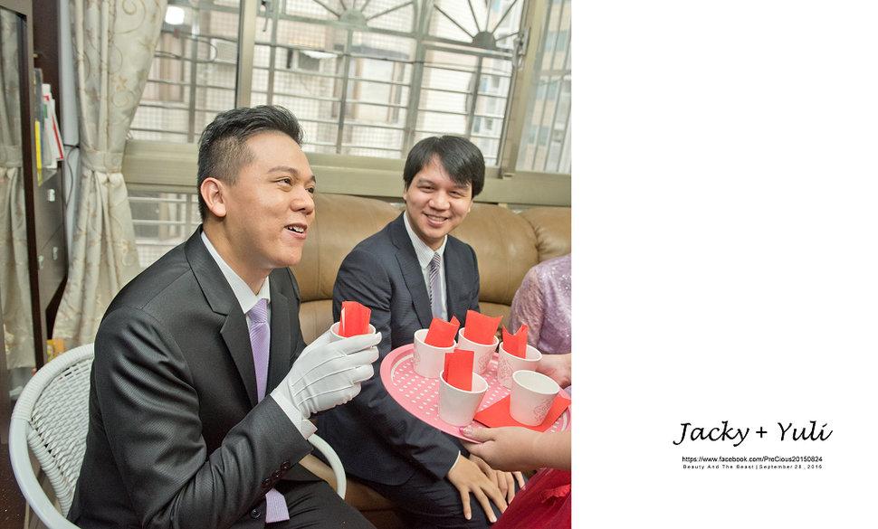 最真實的歡笑與淚水 [Jacky & Yuli 新莊新農園會館](編號:427859) - PreCious波克婚禮攝影工作室 - 結婚吧