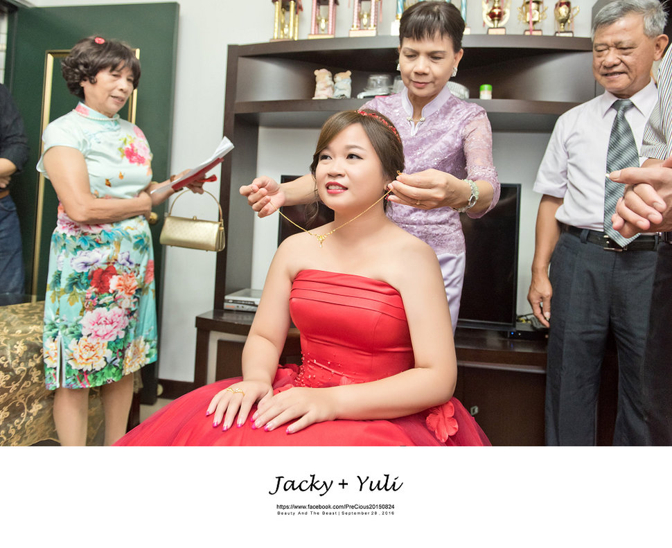 最真實的歡笑與淚水 [Jacky & Yuli 新莊新農園會館](編號:427863) - PreCious波克婚禮攝影工作室 - 結婚吧