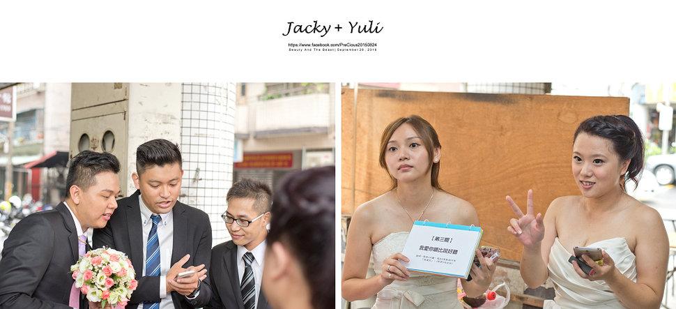 最真實的歡笑與淚水 [Jacky & Yuli 新莊新農園會館](編號:427877) - PreCious波克婚禮攝影工作室 - 結婚吧
