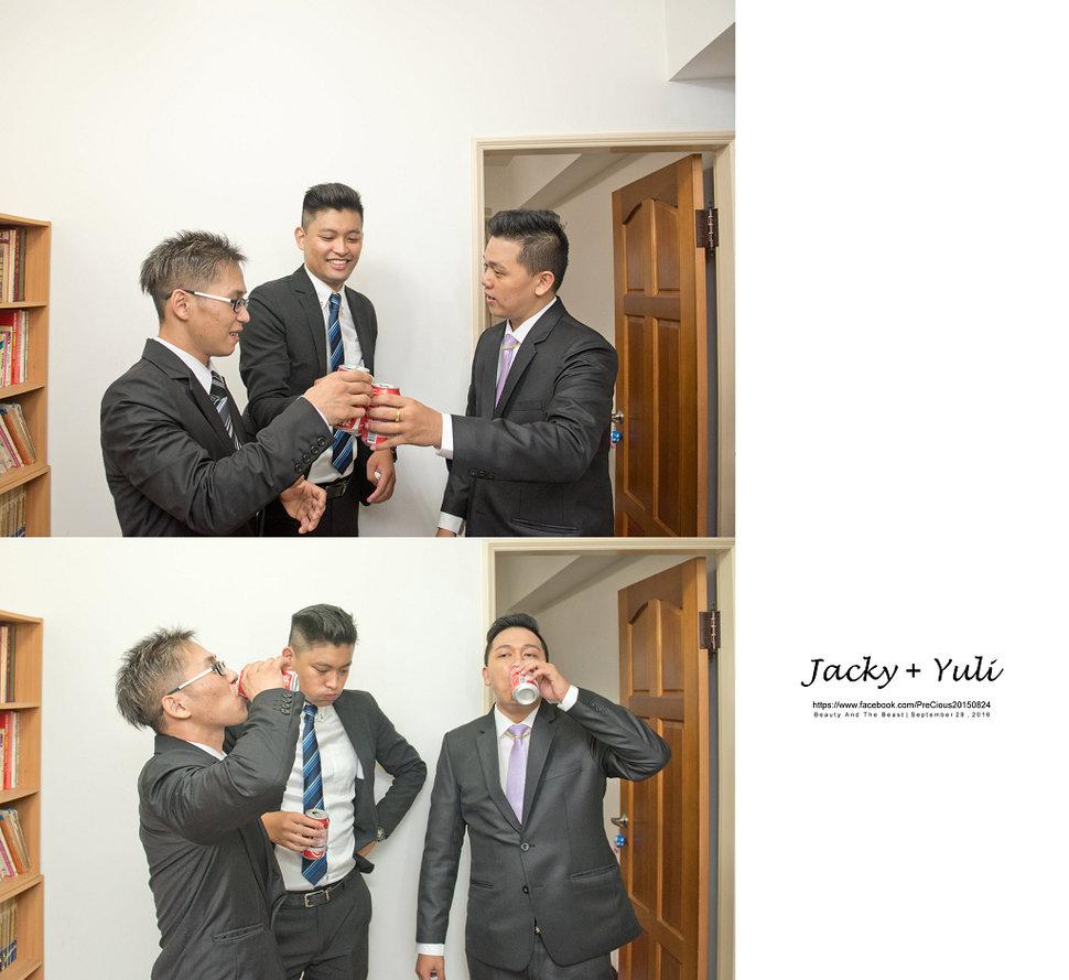 最真實的歡笑與淚水 [Jacky & Yuli 新莊新農園會館](編號:427889) - PreCious波克婚禮攝影工作室 - 結婚吧