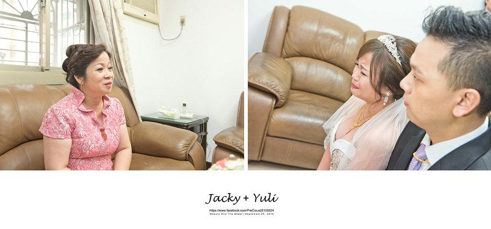 最真實的歡笑與淚水 [Jacky & Yuli 新莊新農園會館](編號:427911) - PreCious波克婚禮攝影工作室 - 結婚吧