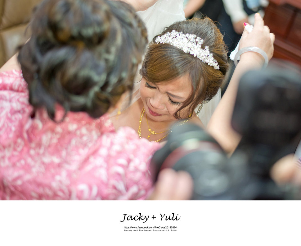 最真實的歡笑與淚水 [Jacky & Yuli 新莊新農園會館](編號:427912) - PreCious波克婚禮攝影工作室 - 結婚吧