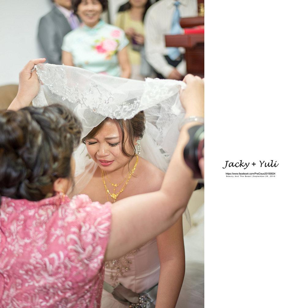 最真實的歡笑與淚水 [Jacky & Yuli 新莊新農園會館](編號:427918) - PreCious波克婚禮攝影工作室 - 結婚吧