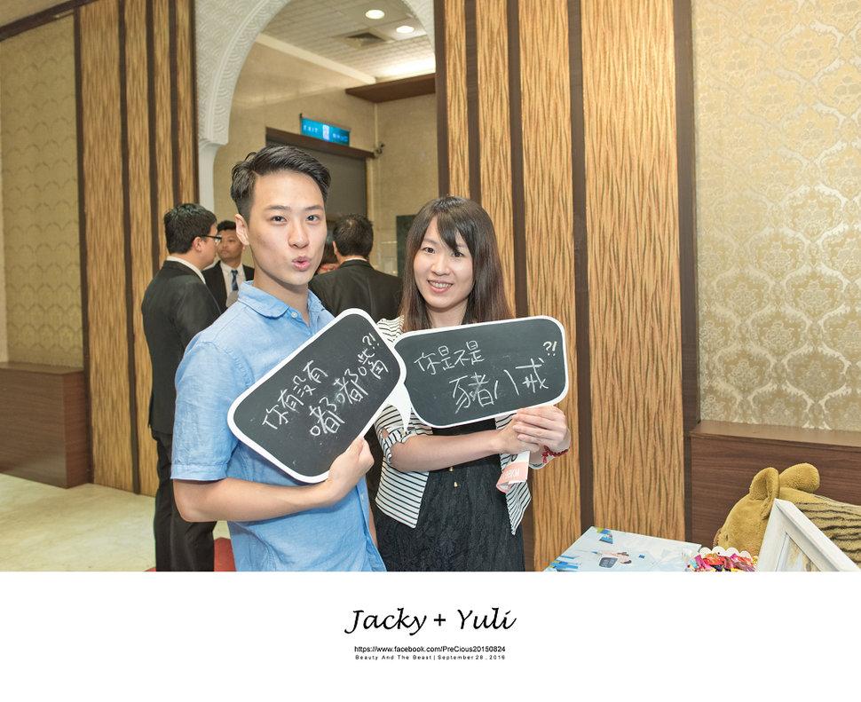 最真實的歡笑與淚水 [Jacky & Yuli 新莊新農園會館](編號:427954) - PreCious波克婚禮攝影工作室 - 結婚吧