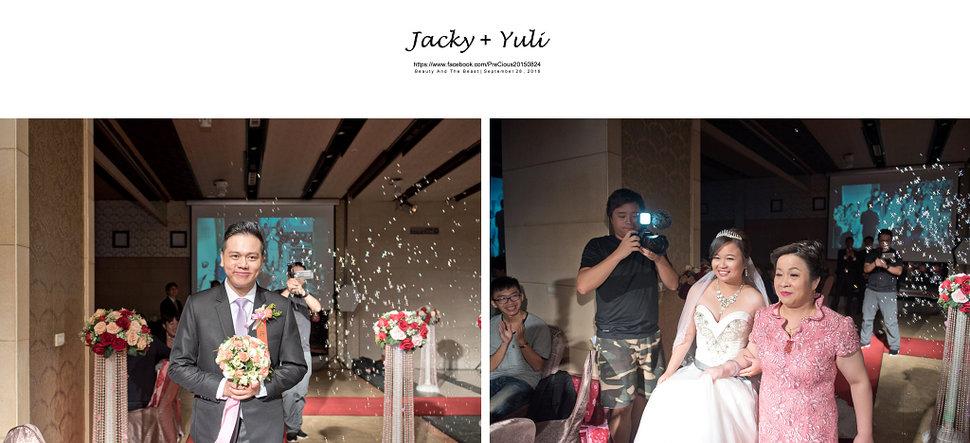 最真實的歡笑與淚水 [Jacky & Yuli 新莊新農園會館](編號:427972) - PreCious波克婚禮攝影工作室 - 結婚吧