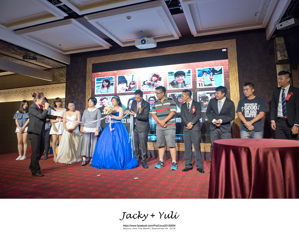 最真實的歡笑與淚水 [Jacky & Yuli 新莊新農園會館](編號:427978) - PreCious波克婚禮攝影工作室 - 結婚吧