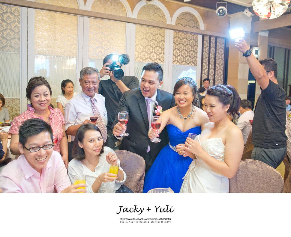 最真實的歡笑與淚水 [Jacky & Yuli 新莊新農園會館](編號:427986) - PreCious波克婚禮攝影工作室 - 結婚吧