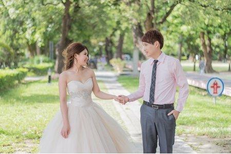 宗勳&靜怡 [台南總爺藝文區外拍/ 台南新松子日式料理]