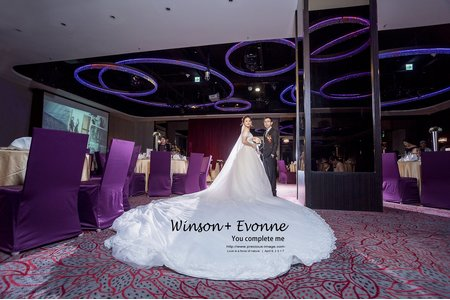 婚禮中最美麗的瞬間[Winson & Evonne-華漾大飯店環球店]