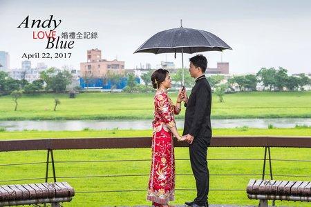 甜蜜的婚禮回憶[Andy + Blue - 婚禮儀式]