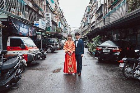 林口好日子-訂結儀式-龍鳳掛類婚紗