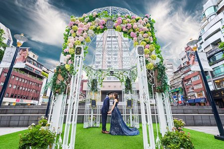 台北晶華酒店-文定儀式-夢幻類婚紗