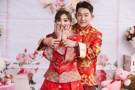 流水席婚禮-訂結儀式-自然生動類婚紗