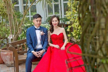 花蓮遠雄悅來大飯店-證婚儀式-唯美浪漫類婚紗