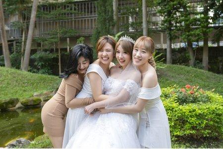 用類婚紗點綴妳的婚禮回憶-自然溫馨,唯美清新風格