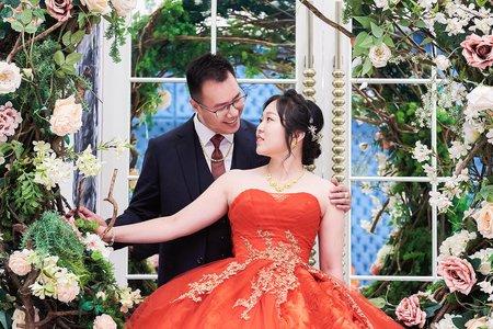 |台北婚攝|GF攝影| 秉臻 & 怡晴 | 新莊典華晚宴 |