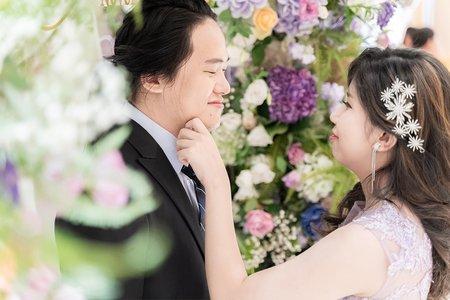 |台北婚攝|GF攝影| 國立 & 芝儀 | 新莊典華教堂儀式&宴客 |